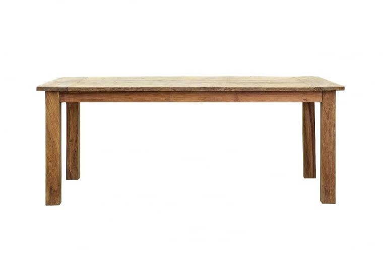 Stół, drewno tekowe, 100 x 200 cm, 9design - 4330 zł