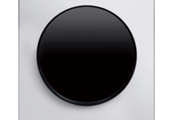 Linia R.3. Berker w wersji czarno-białej. Może być też na odwrót - biały przycisk, czarna ramka.