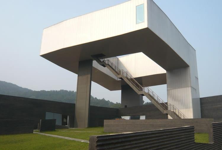 Muzeum Sztuki Sifang, Nanjing, Chiny, proj. Steven Holl