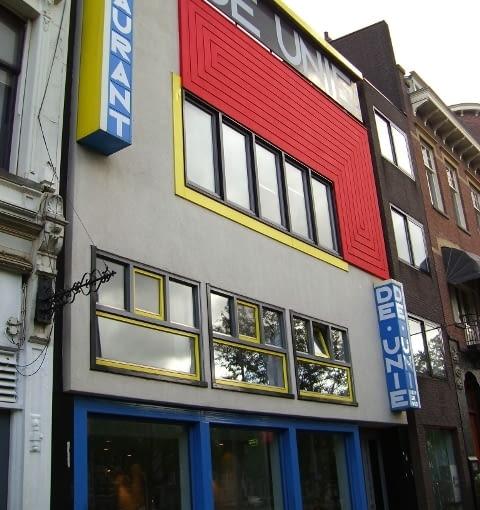 Cafe De Unie, J.J.P. Oud