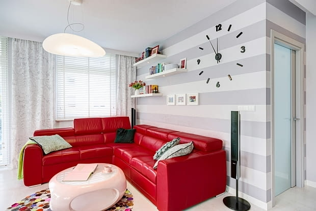 mieszkanie, kolorowe mieszkanie, nowoczesne mieszkanie, prawdziwe mieszkanie