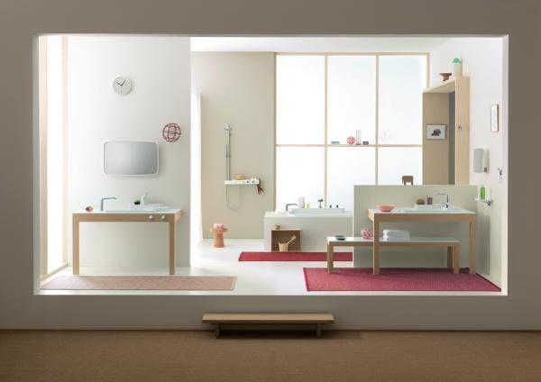 łazienka Axor; projekt: bracia Bouroullec dla Hangrohe