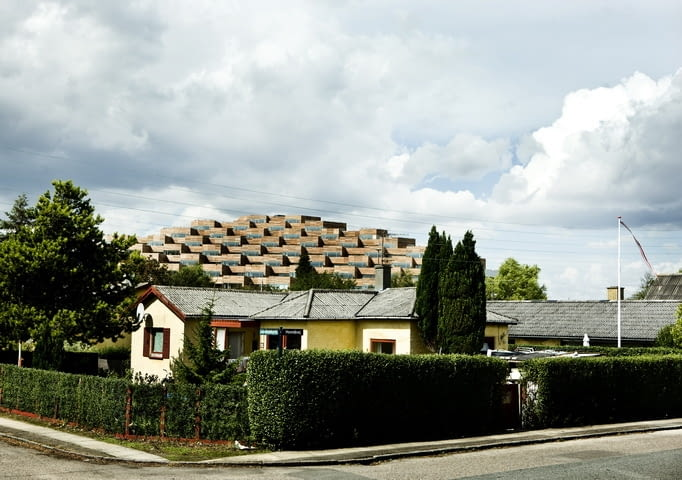 Mountain Dwellings, apartamentowiec, BIG, Bjarke Ingels Group, dania, kopenhaga