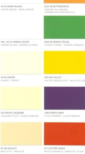 Farby do wnętrz. Proponowane zestawy kolorów serii The Farm