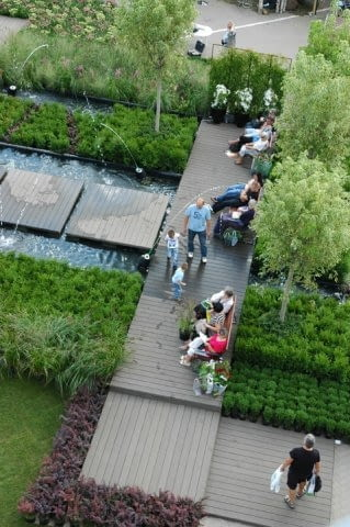 Ogród Pokazowy przygotowany przez pracownię Palmett
