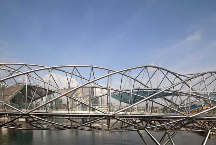 konstrukcja, waf, singapur, most