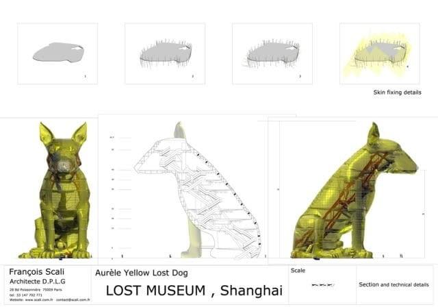 szanghaj, expo 2010, muzeum, pies