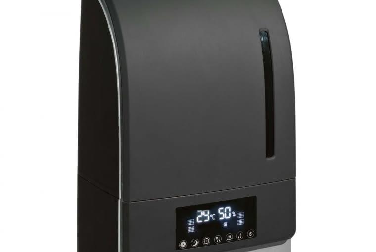 ME-A 207B, ultradźwiękowy, wydajność, 0,38 l/godz., jonizacja, oczyszczanie powietrza, 298 zł, Castorama