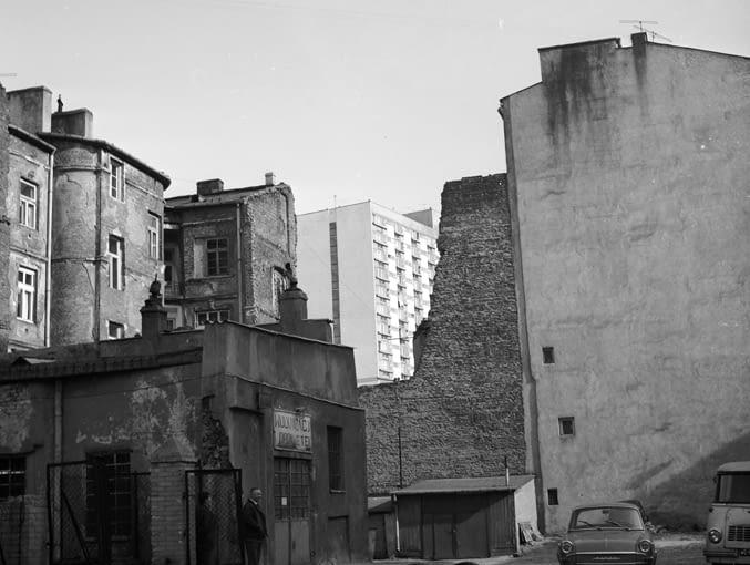 Osiedle za Żelazną Bramą w Warszawie, przełom lat 60. i 70. modernizm