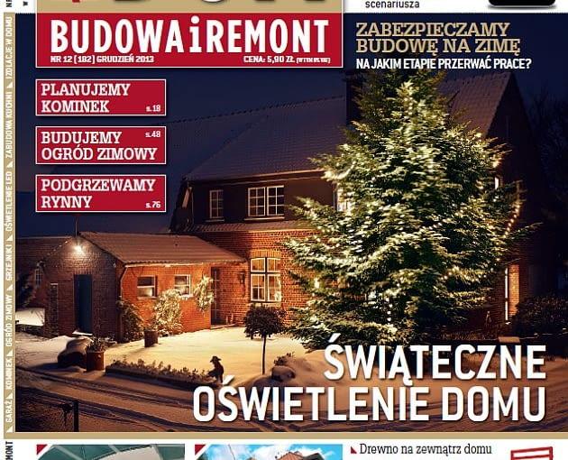 Okładka miesięcznika Ładny Dom 12/2013