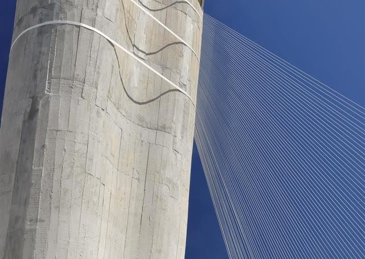 Jednostka Marsylska, proj. Le Corbusier - północny komin wentylacyjny