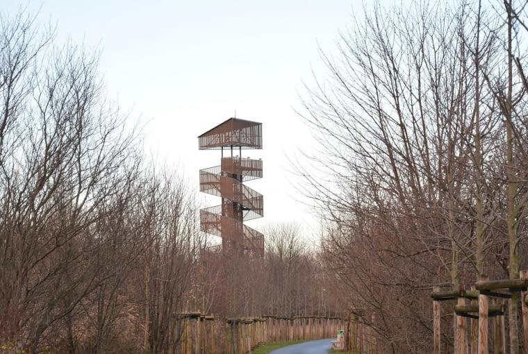 Wieża widokowa na Szachtach w Poznaniu
