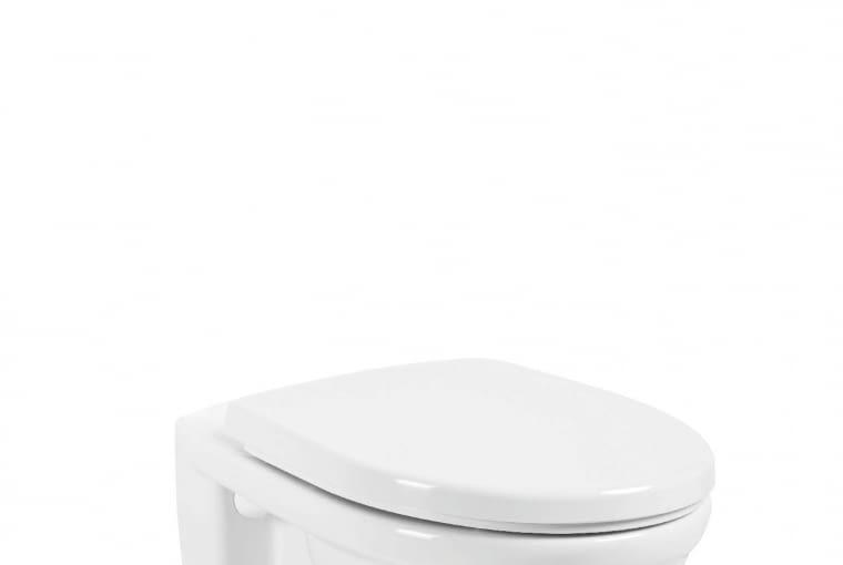 Sella/ARMATURA KRAKÓW. Wisząca miska lejowa z odpornej na zarysowania i odbarwiania ceramiki sanitarnej; wymiary: 52 x 36,5 cm. Cena: 306 zł, www.grupa-armatura.com