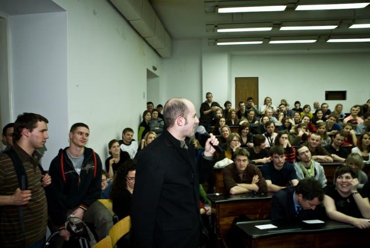 Polska Bryła, Tomasz Konior, Konior Studio, architekt, wykład