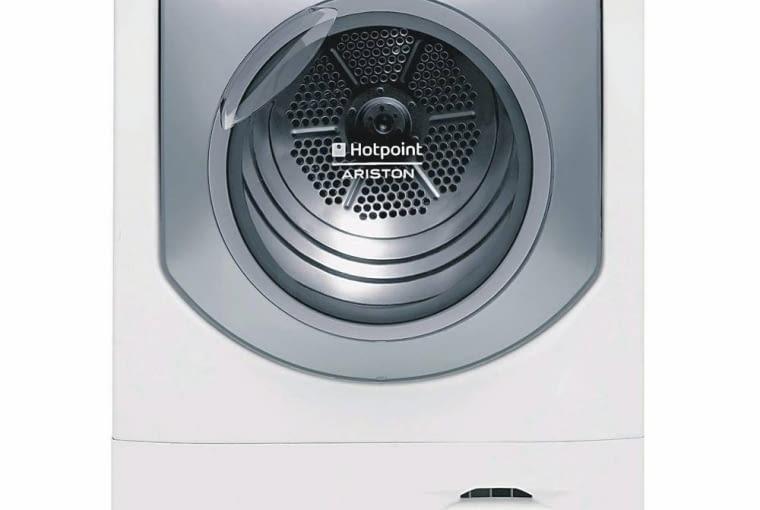 SUSZARKI. Wysuszy wszystko. 2699 zł, AQCF851, Hotpoint-Ariston Kondensacyjna, klasa energetyczna B, wsad 8 kg, wyświetlacz LCD, wskaźnik przebiegu programu, 16 programów: w tym Bed & Bath do pościeli i ręczników, do wełny, jedwabiu, koszul, kołder puchowych. Wymiary: 58,4 x 59,5 cm. <BR />Co zwraca uwagę: program do suszenia puchowych kołder.
