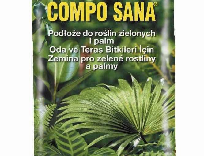 Compo Sana, podłoże do roślin zielonych, 12 zł/10 l zł, Compo