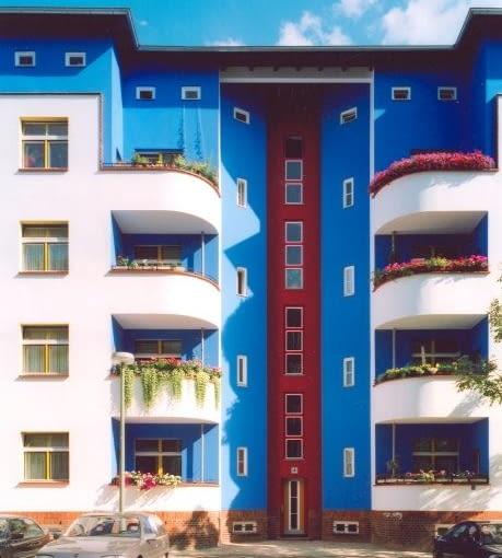 Odremontowane budynki autorstwa Brunona Tauta w Berlinie