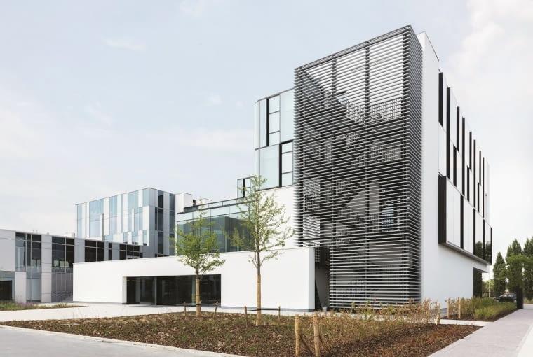 Centrum innowacji Experience Center w głównej siedzibie Reynaers w Duffel