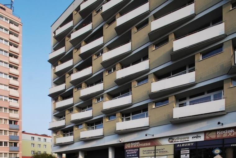 Blok przy Placu Waryńskiego, Poznań, fot. ULTRA Architects