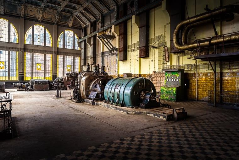 Elektrownia Scheiblera w Łodzi