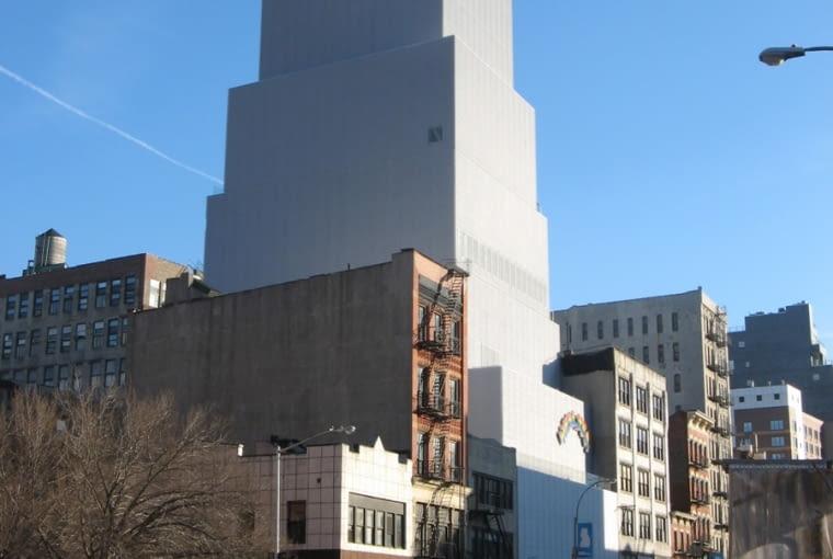 New Museum projektu SANAA Nowy Jork