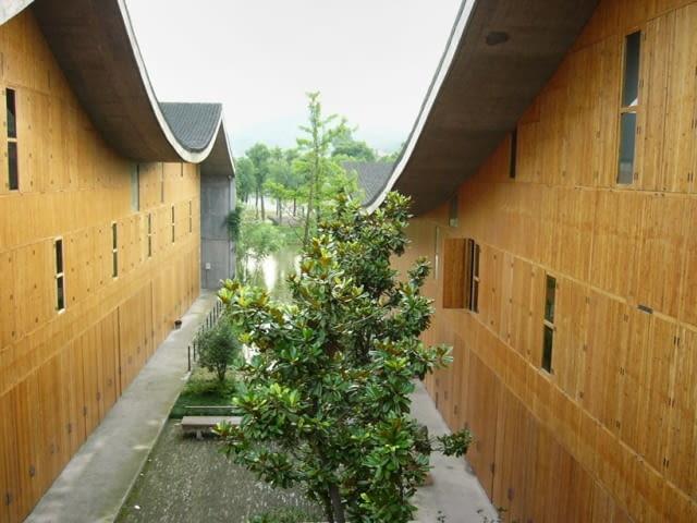 Nowy kampus Chińskiej Akademii Sztuk Pięknych w Hangzhou, 2004-2007