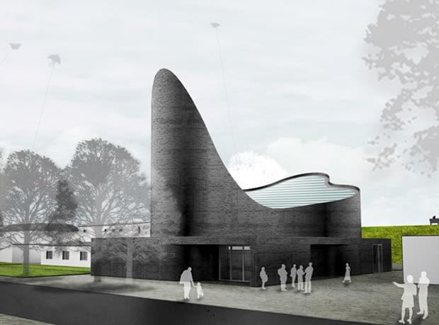 Kościół Mariacki w Schillig, proj. zespół Königs Architekten z Koloni