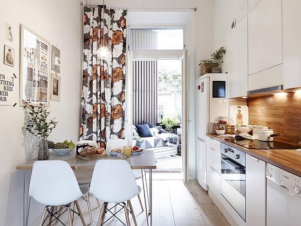 mieszkanie w skandynawskim stylu, jasne mieszkanie, jak urządzić mieszkanie