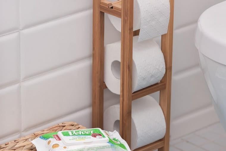 Nawilżany papier toaletowy, VELVET, ok. 6 zł