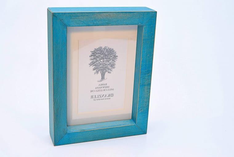 Pasuje tu także... ramka na zdjęcie, drewno bukowe, 19 x 25 cm - 31 zł, Kanzler.
