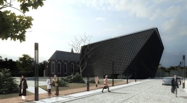 projekt, muzeum, nizio, polska architektura, wrocław, konkurs