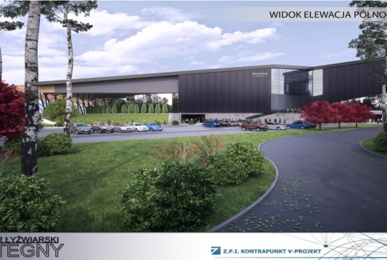 Projekt modernizacji toru łyżwiarskiego Stegny