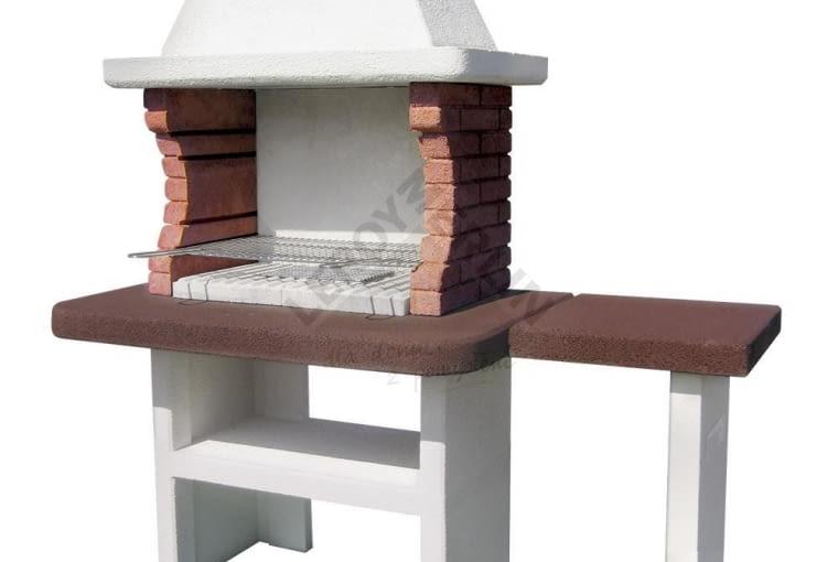 WYPRZEDAŻ!: Grill betonowy, przeceniony z 1 499zł na 1 199zł (OSZCZĘDZASZ 300zł!) wymiary: wysokość: 160cm, szerokość: 71cm, głębokość: 175 cm, ruszt: śr.68x40cm, waga: 480 kg, gwarancja: 2 lata, do kupienia w sklepach LEROY MERLIN (tylko w sklepie internetowym)