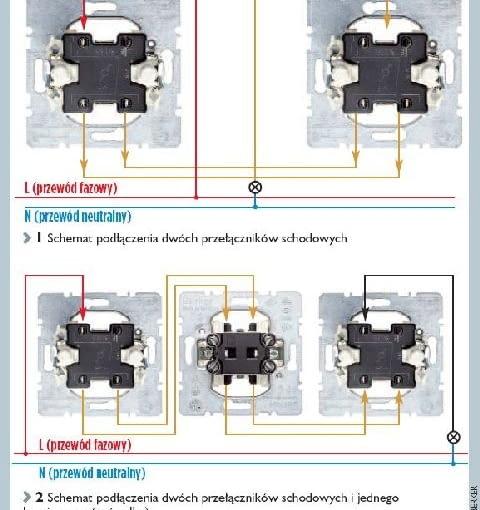 Montaż przełączników