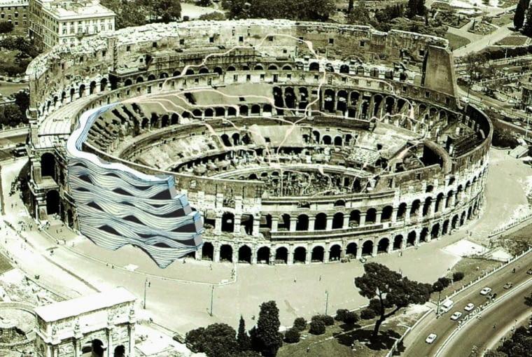 Andre Santer z J. Mayer H. Architeten, w swoim projekcie rewitalizacji Koloseum proponował wzmocnienie uszkodzonej fasady dodatkową zewnętrzną powłoką, dzięki której możliwe byłoby przywrócenie budynkowi dawnych funkcji użytkowych