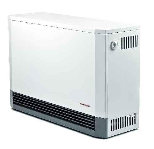 Piec akumulacyjny, dynamiczny, TWM Thermoval, moc 1,6-7 kW, wys. 658/szer. 533-1348/gł. 250 mm, Cena: 1975-4229 zł