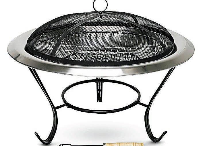 Mobilne ognisko ze stali, może też służyć za grill, ok. 300 zł, Jula.