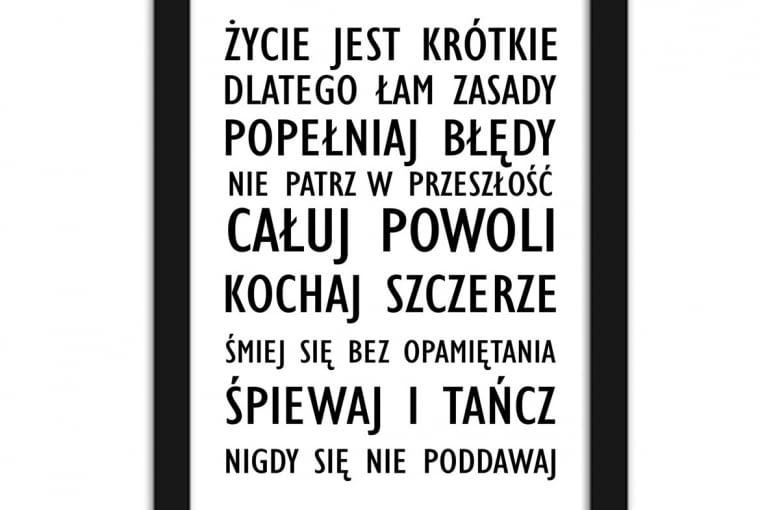 W stylu tego wnętrza: Plakat w ramie, 70 x 100 cm, Feeby.pl, cena: 125 zł