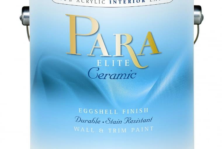 Elite Ceramic/PARA PAINTS| Rodzaj: akrylowafarba lateksowa, nadaje się do zmywania i mycia detergentami | wydajność:12 m2/l | stopień połysku:matowa | odporność:10000 cykli zmywania; | 2500 kolorów | opakowania:1 l, 3,78 l.Cena:249,98 zł/3,78 l, www.para.pl