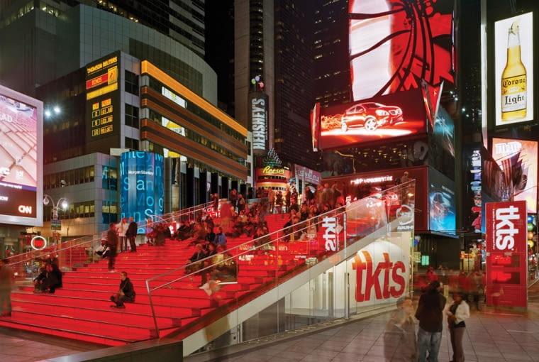 Times Square Nowy jork architektura, manhattan