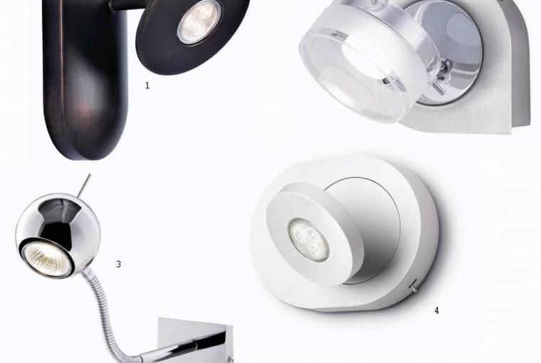 Kuchnie. Wybraliśmy dla was: lampki nadszafkowe<br/> 1. Z aluminium, kuplampe.pl, 180,50 zł<br/> 2. Z metalu i szkła, Elektrorygiel, 576,36 zł<br/> 3. Chromowana, 2bm.pl, 49 zł<br/> 4. Z aluminium, Philips, 455 zł<br/>