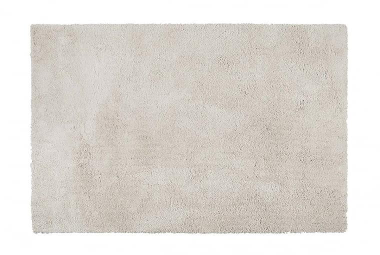 Dla ocieplenia atmosfery - puszysty dywan Fuzzy w jasnoszarym kolorze.
