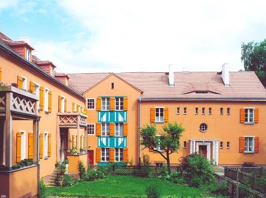 bruno taut, Osiedle Leśne w Berlinie - 'Chata wuja Toma' (Waldsiedlung Onkel-Toms-Hütte), 1926-1931