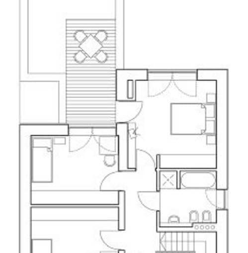 projekt - plan 2 piętra