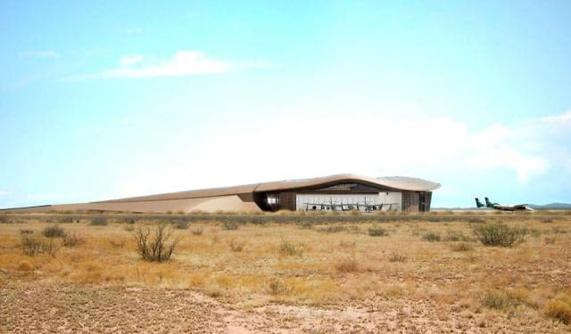 Spaceport America, Nowy Meksyk, USA, proj. Foster Partners fot: Nigel Young/Foster Partners