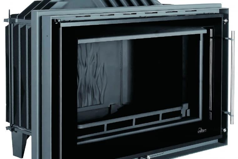 Kominki z DGP Uniflam 850 Prestige/GALERIA KOMINKÓW; moc 14kW materiał: żeliwo; Cena: 3499 zł