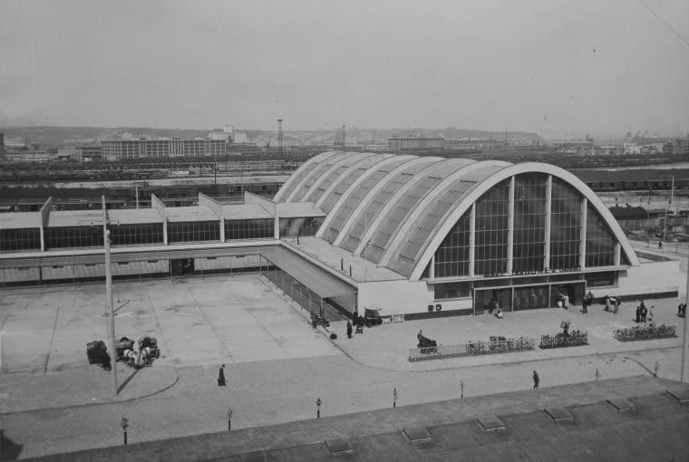 Kompleks Hal Targowych w Gdyni, 1937, proj. Jerzy Müller, Stefan Reychman