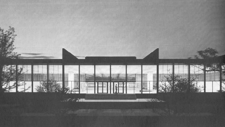 modernizm, mies van der rohe, wieżowiec, usa, architekt