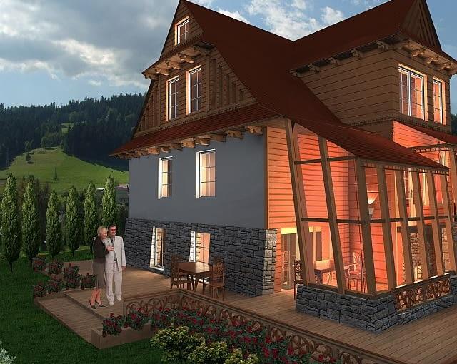 Zwycięski projekt III kategorii Cyklu Konkursów 'Drewno w Architekturze'