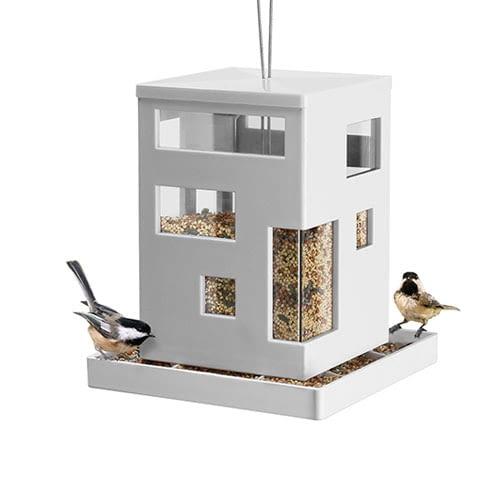 domek dla ptaków, zimowe dokarmianie ptaków